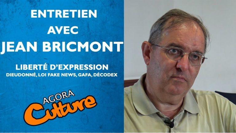 Jean Bricmont sur la liberté d'expression en France [Vidéo]