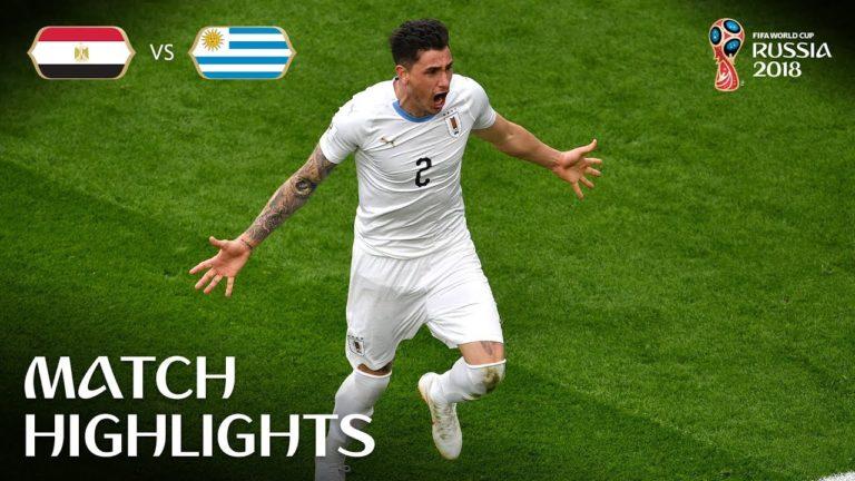 Egypte – Uruguay (0-1) : le résumé en vidéo
