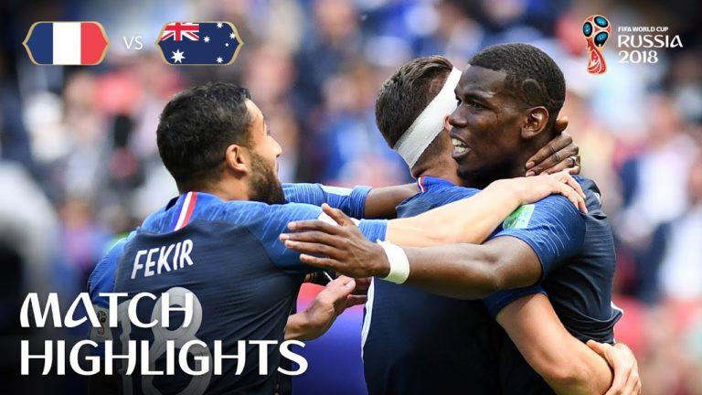 France-Australie (2-1), Croatie, Nigéria, Argentine … : les vidéos de la journée de samedi