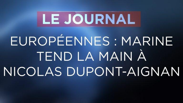 Marine Le Pen tend la main à Nicolas Dupont Aignan