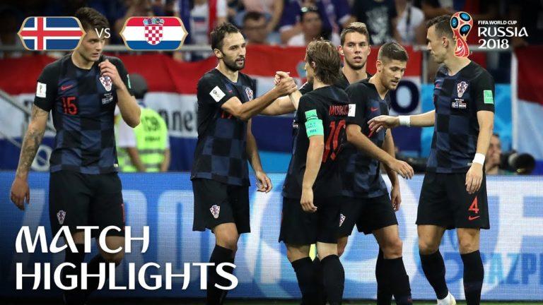 Nigéria-Argentine (1-2), Croatie-Islande (2-1) : les vidéos