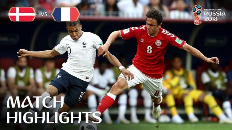 France-Danemark (0-0), Pérou-Australie (2-0) : les vidéos