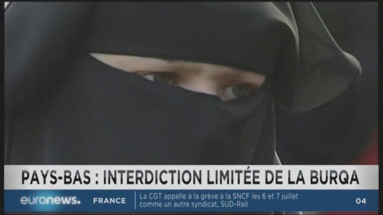 Aux Pays-Bas,le Sénat vote l'interdiction de la Burqa dans les lieux publics