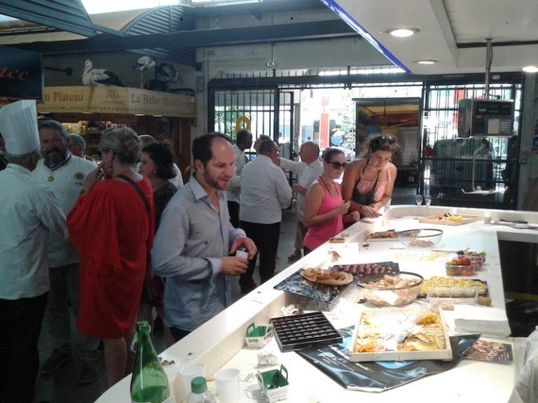 Nantes. L'Académie Culinaire fête le marché de Talensac