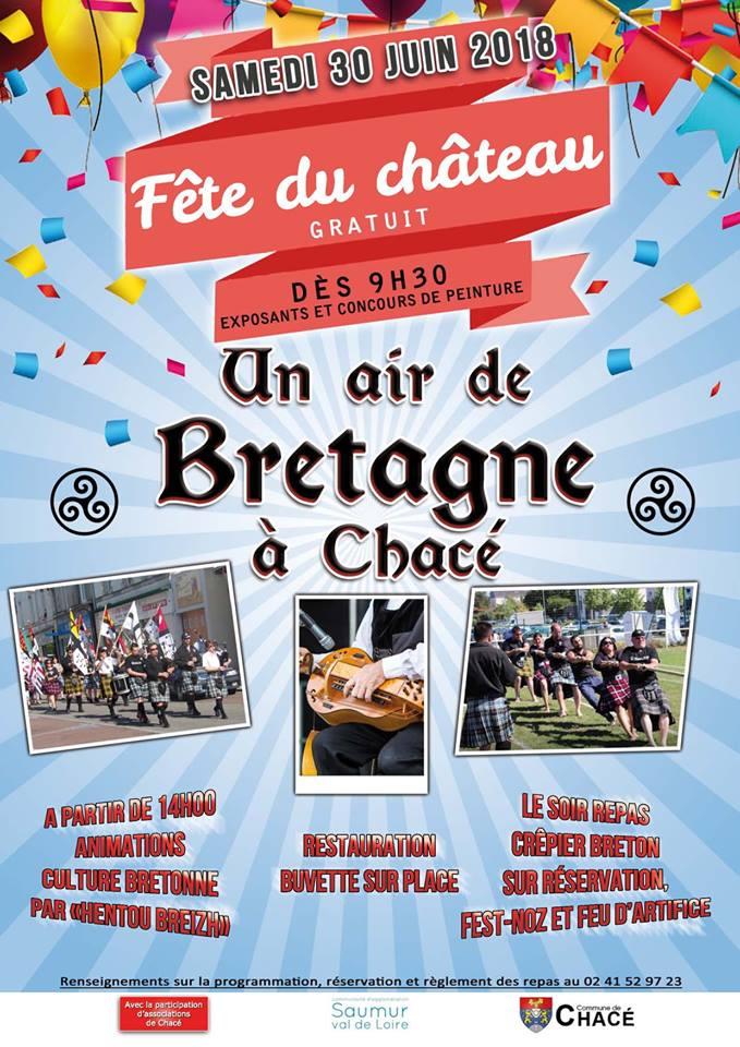 Château de Chacé. Un air de Bretagne en Anjou !