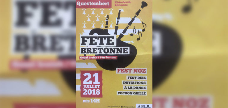 Morbihan. Questembert fête la Bretagne (et un peu moins le gallo) ce 21 juillet