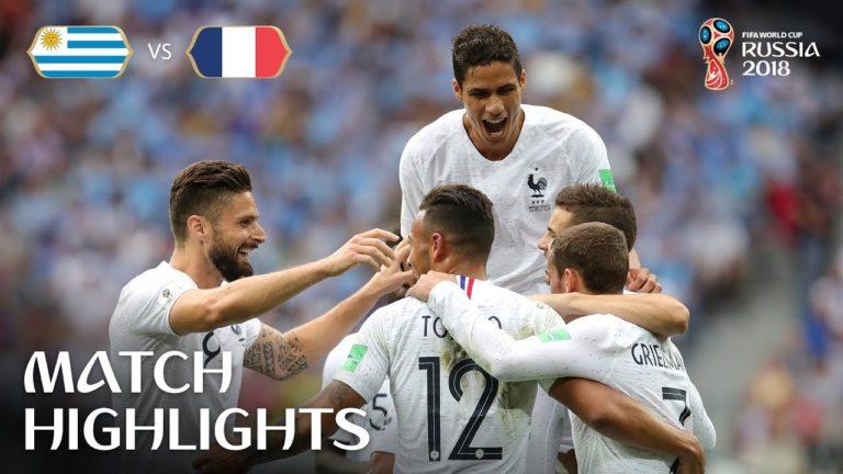 La France et la Belgique s'affronteront en demi-finale de la Coupe du monde [Vidéo]
