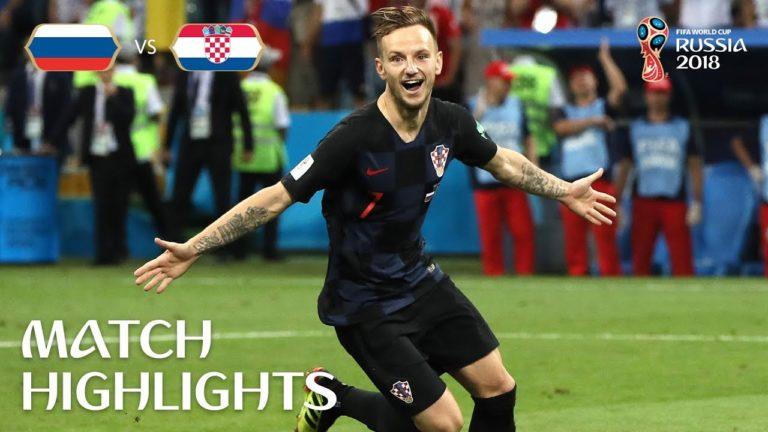 La Croatie et l'Angleterre s'affronteront en demi-finale [Vidéos]