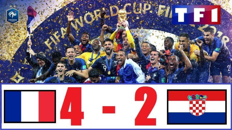 Coupe du monde 2018. France-Croatie (4-2) : le résumé en vidéo