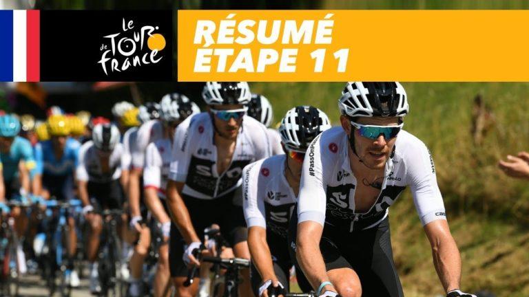 Tour de France. Froome, Dumoulin et Geraint Thomas se détachent [Vidéo]