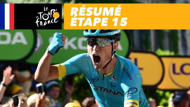 Tour de France : Cort Nielsen remporte la 15ème étape , le bilan après 2 semaines de course [Vidéo]