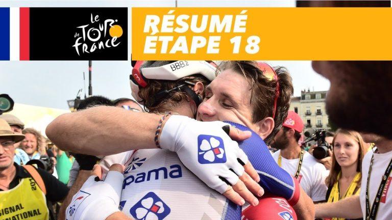 Tour de France : la 18ème étape pour Arnaud Démare [Vidéo]