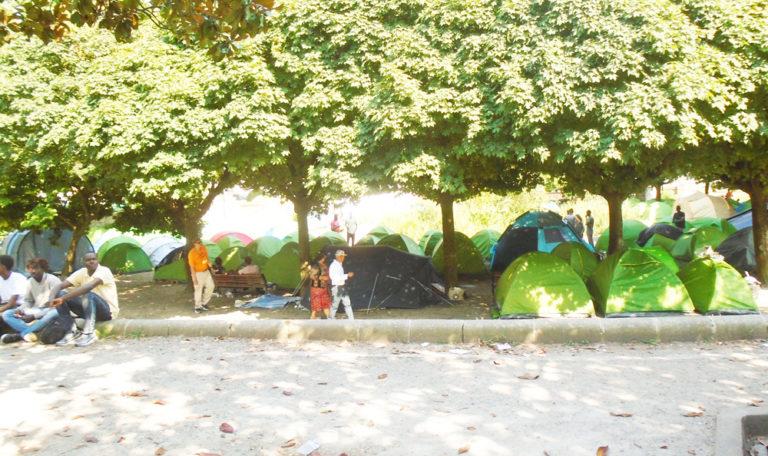 Nantes : les migrants clandestins du square Daviais seront expulsés