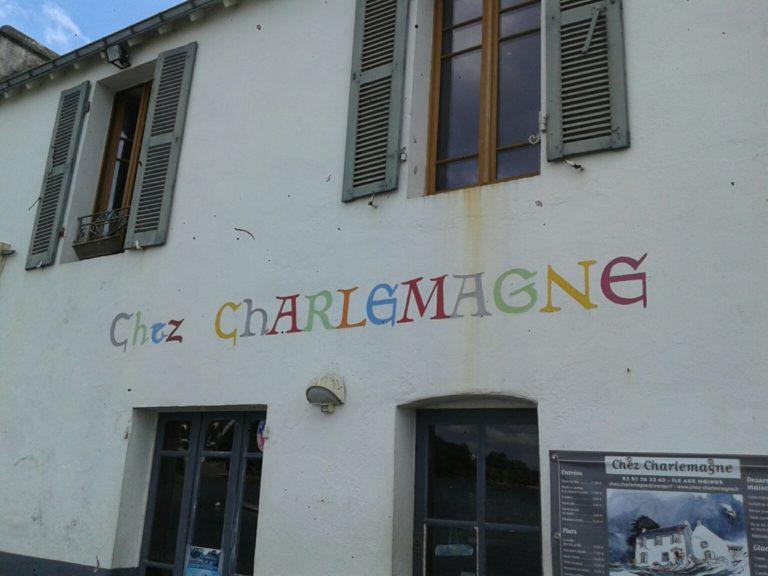 Chez Charlemagne à l'Ile aux Moines: grande cuisine, grande vue et grande histoire