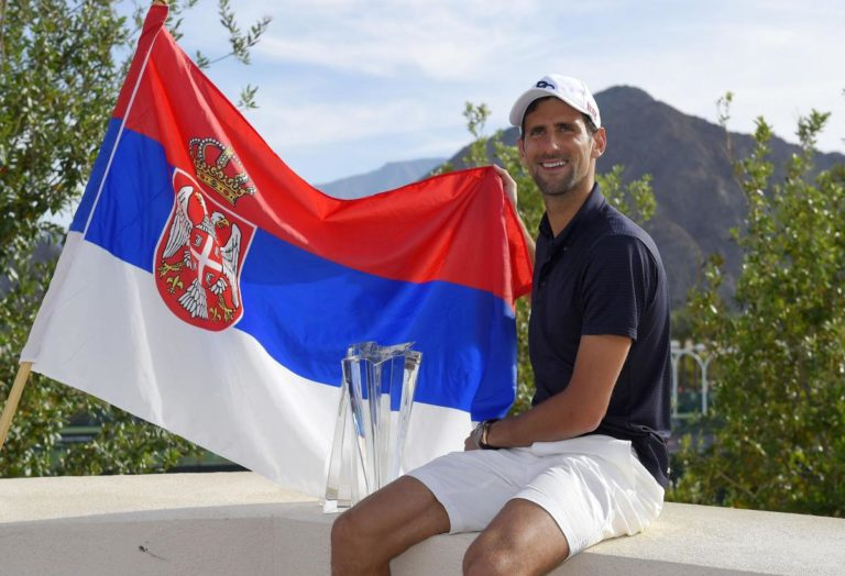 Novak Djokovic dans la légende du tennis… et défenseur du Kosovo serbe ! [Vidéos]