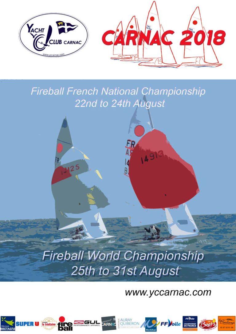 Fireball. Place aux championnats du monde à Carnac
