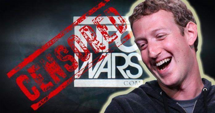 Le média alternatif américain Infowars censuré par Facebook