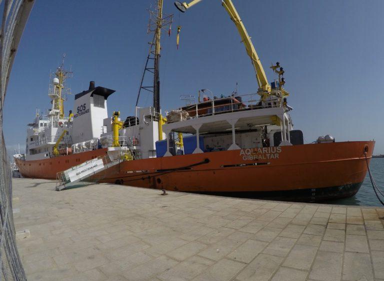 Route du Rhum. Ces skippers qui soutiennent l'Aquarius, l'immigration et les migrants