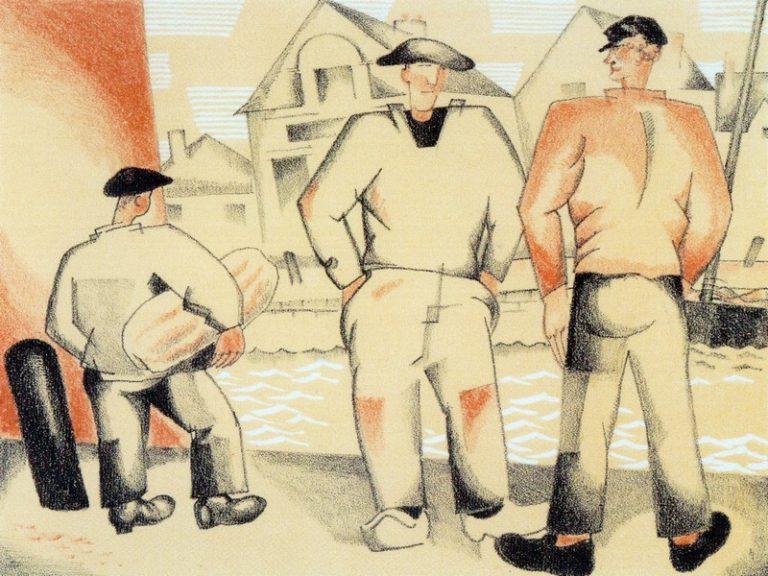 Exposition Jean-Émile Laboureur au Croisic  «entre terre et mer… »