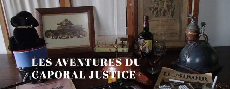 Le Caporal Justice, un super-héros français [Interview]