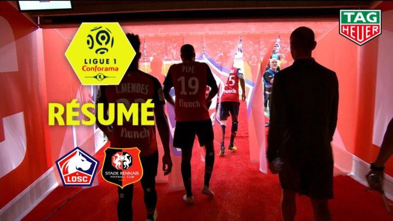 Lille-Rennes (3-1) : le résumé en vidéo