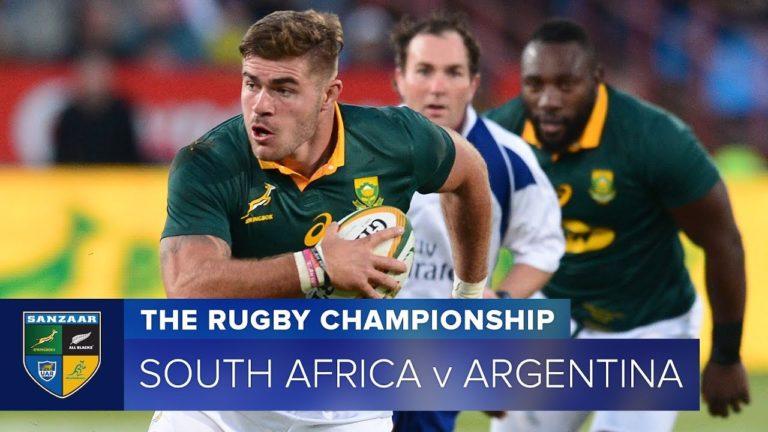 Rugby Championship. L'Afrique du Sud dispose de l'Argentine (34-21)