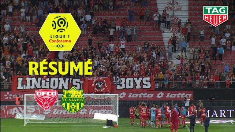 Dijon-Nantes (2-0) : le résumé en vidéo