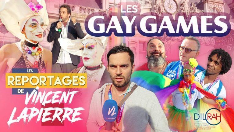 Retour sur les Gay Games avec Vincent Lapierre [Vidéo]