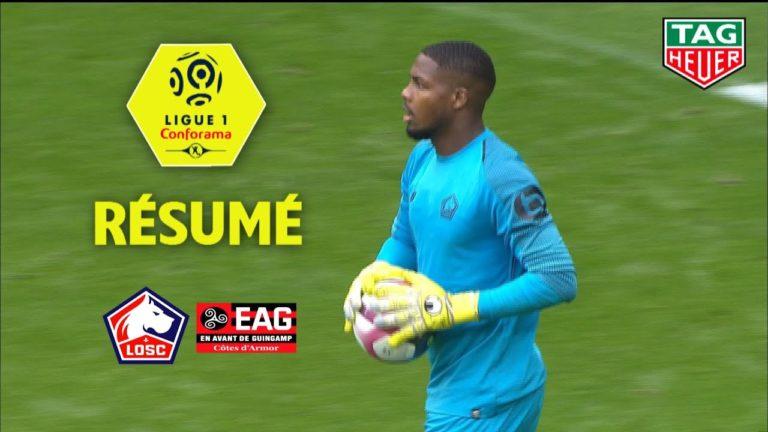 Guingamp dérouille à Lille (3-0) : le résumé en vidéo