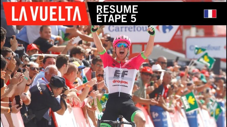Vuelta 2018 : Rudy Molard s'empare du maillot rouge