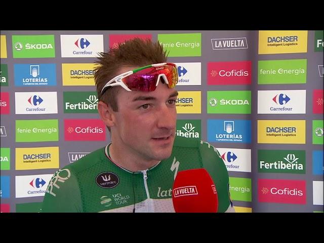Elia Viviani remporte la 3ème étape de la Vuelta [Vidéo]