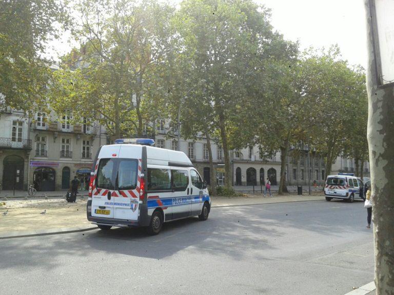 Nantes. Police municipale à Commerce: opération de com' pour la mairie ?