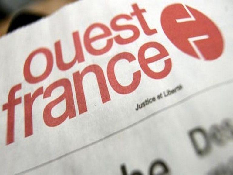 Ouest-France. François Régis Hutin doit se retourner dans sa tombe