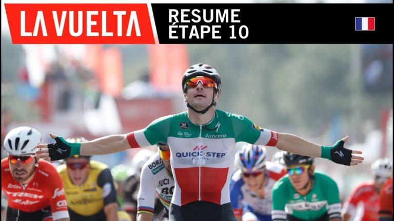 Deuxième victoire d'étape pour Elia Viviani sur la Vuelta 2018 [Vidéo]