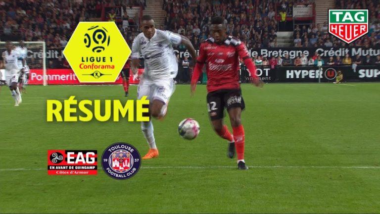 EA Guingamp sombre face à Toulouse (1-2) [Vidéo]