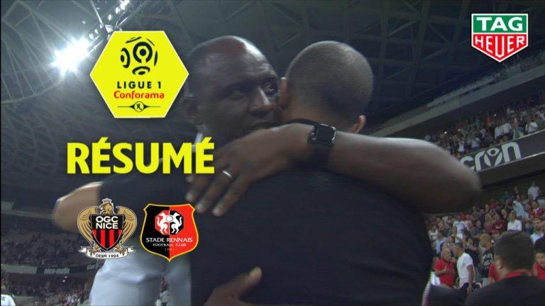 OGC Nice-Stade Rennais (2-1) : le résumé en vidéo