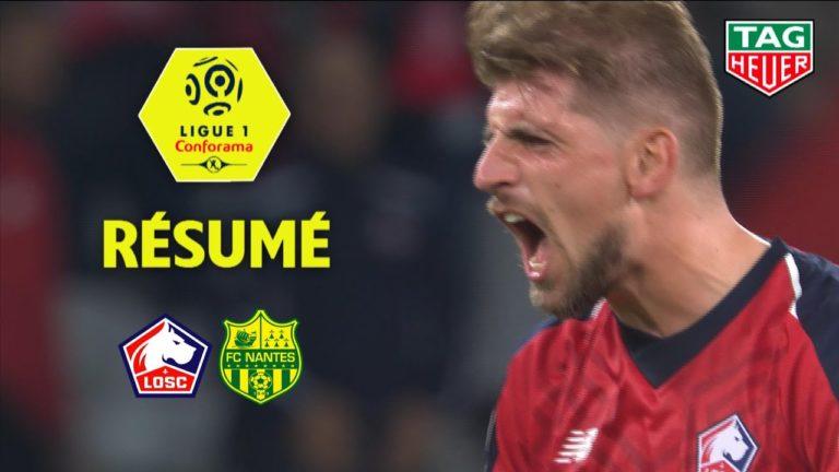 Lille – FC Nantes (2-1) : le résumé en vidéo