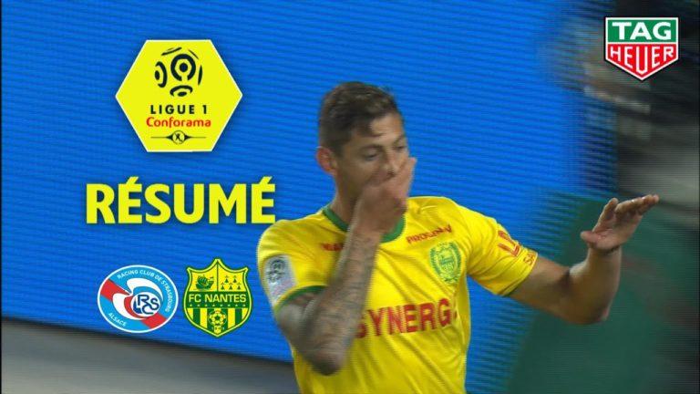 Le FC Nantes s'impose à Strasbourg (2-3) : le résumé en vidéo