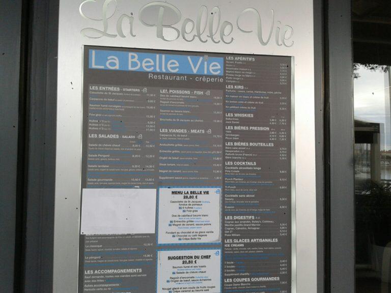 Saint-Gilles Croix de Vie: la Belle Vie, bonne adresse vendéenne