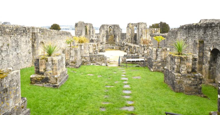 Découverte. Les ruines de l'abbaye bretonne de Landévennec