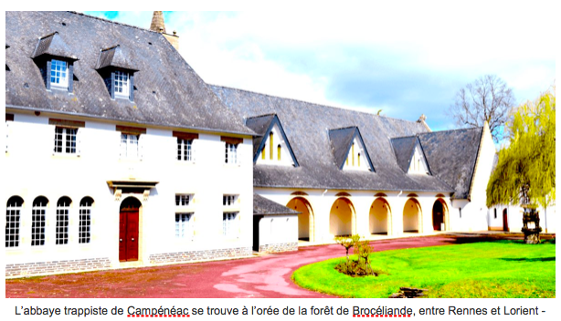 La chocolaterie de l'abbaye la Joie Notre-Dame de Campénéac