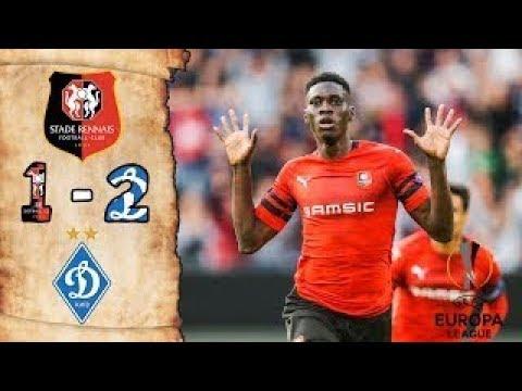 Ligue Europa. Rennes battu par le Dynamo Kiev (1-2), défaite du Celtic, nul des Rangers [Vidéo]