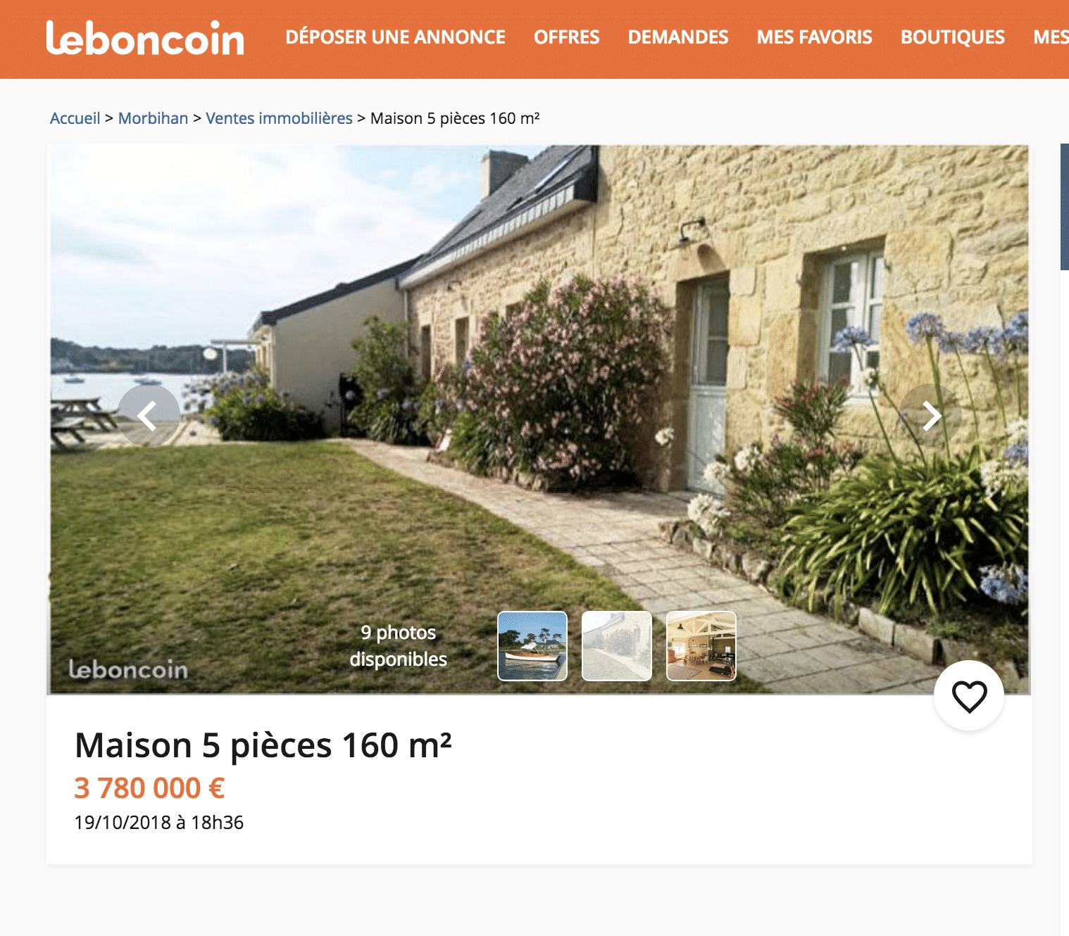 Immobilier En Bretagne Les 5 Propriétés Les Plus Chères Sur Le Bon