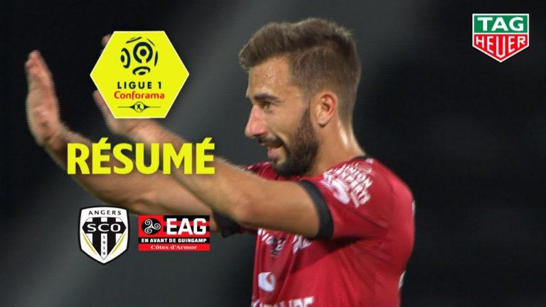 Football. À Angers, Guingamp décroche sa première victoire (0-1) : la vidéo