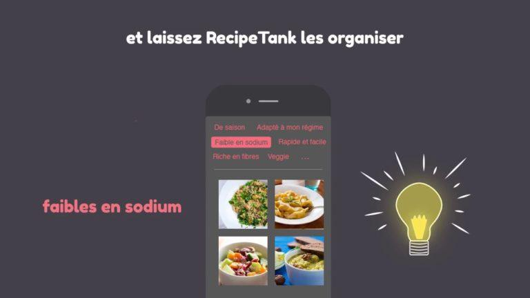 RecipeTank : l'application gourmande contre le gaspillage alimentaire)