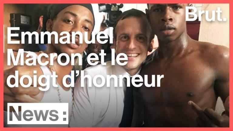 Photographié avec Macron à Saint-Martin, l'ex braqueur retourne en prison