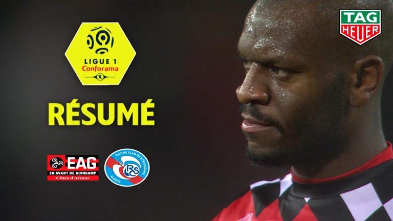 EA Guingamp – Strasbourg (1-1) : toujours pas de victoire [Vidéo]