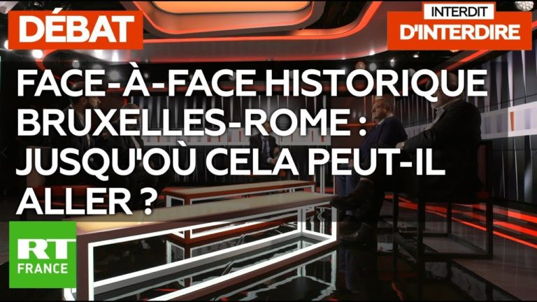 Face-à-face historique Bruxelles-Rome : jusqu'où cela peut-il aller ? [Vidéo]