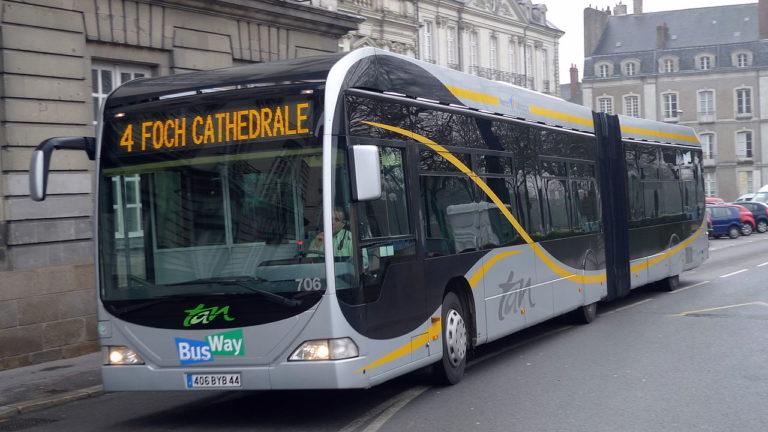Nantes: «la priorité de la SEMITAN c'est que les bus roulent quoi qu'il arrive, c'est ce que veut Johanna Rolland»