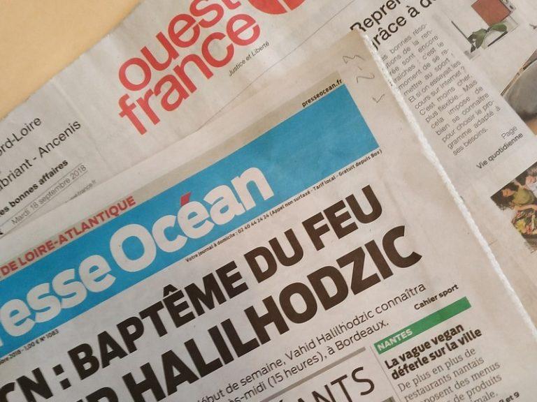 Presse Océan : Fuchs, Dejean et Glaize étaient partis en week-end